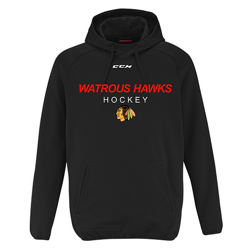 HAWKS YOUTH CCM PERFORMANCE HOODIE