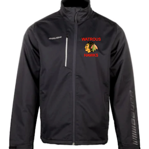 HAWKS ADULT BAUER SUPREME  JACKET