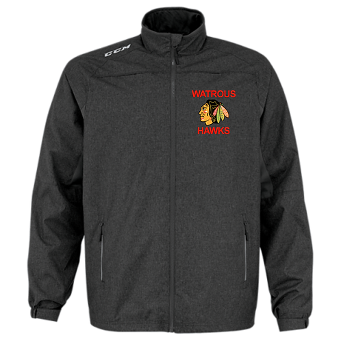 HAWKS YOUTH CCM PREMIUM SUIT JACKET