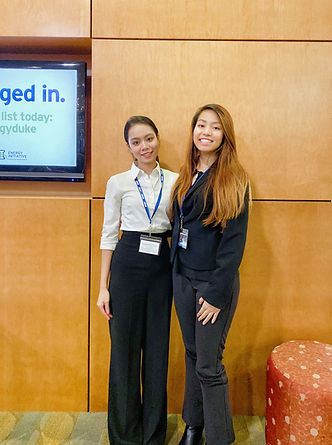Allison Tran and Rosalie Truong - State