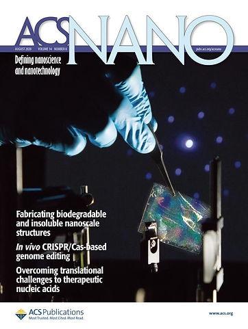 ACS Nano (Aug. 2020) Cover