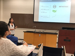 Dr. Renata Saito gives a guest lecture to CHEM 4090 on using nanoparticles for melanoma treatment