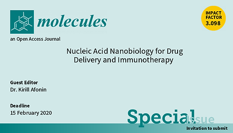 Molecules Special Issue - Nucleic Acid N
