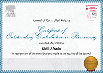 Dr. Afonin Oustanding Contribution in Re