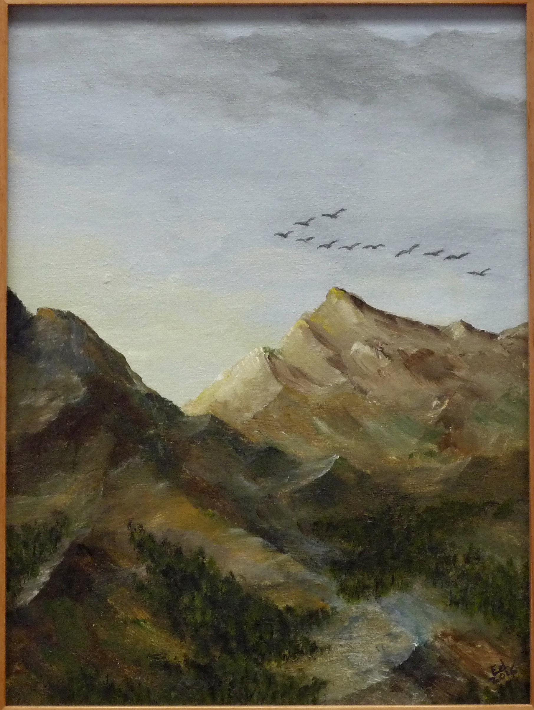 Migration over the Mountains