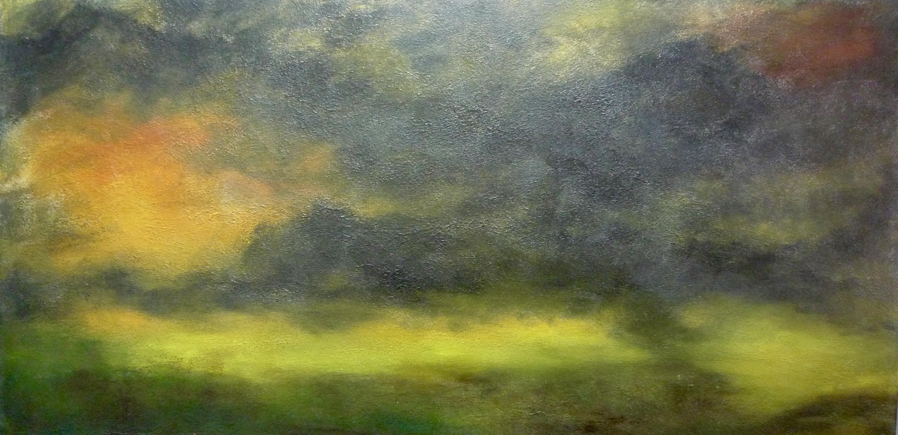Unsettling Green Sky