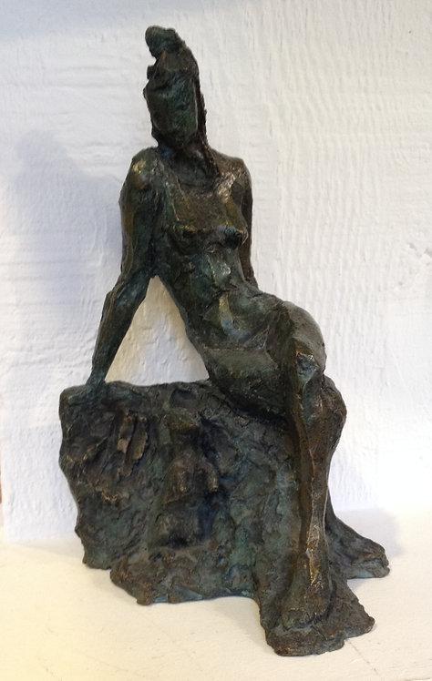 Cade, Nu à la fouine, bronze