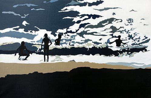 Sophie Couturier, Plage soleil noir