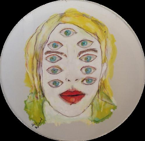 Cendres Lavy, Les yeux