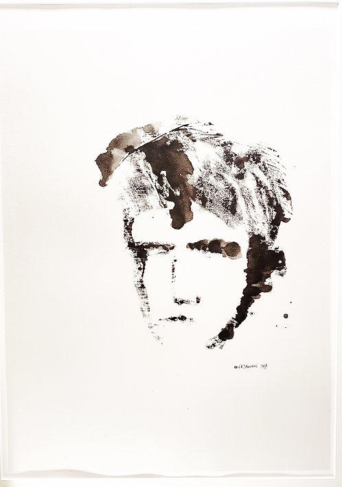 Arthur Rimbaud Lithographie