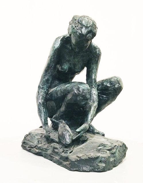 Cade, Femme au poisson, bronze numéroté