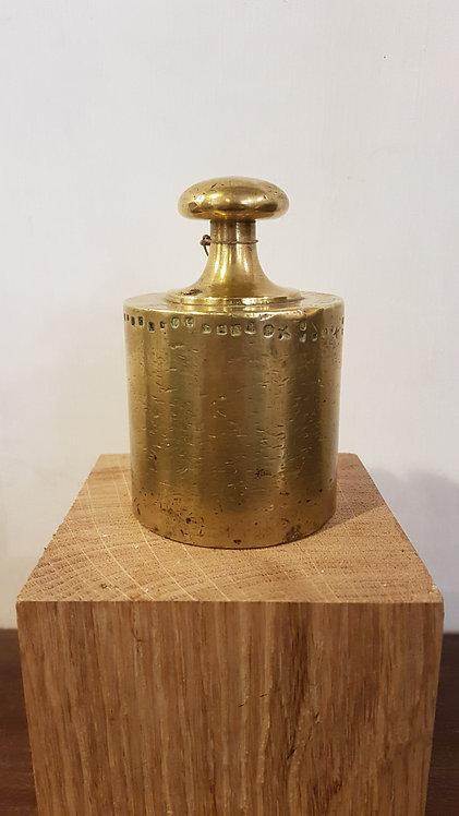 2Kg Brass scale weight / Poids en laiton de 2Kg