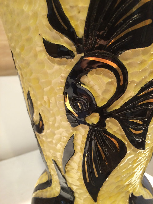 Vallauris ceramic vase/Vase en céramique Vallauris