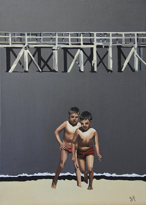 Sophie Couturier, Les enfants sous le pont