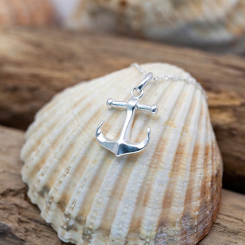 Sterling Silver - Falmouth Anchor