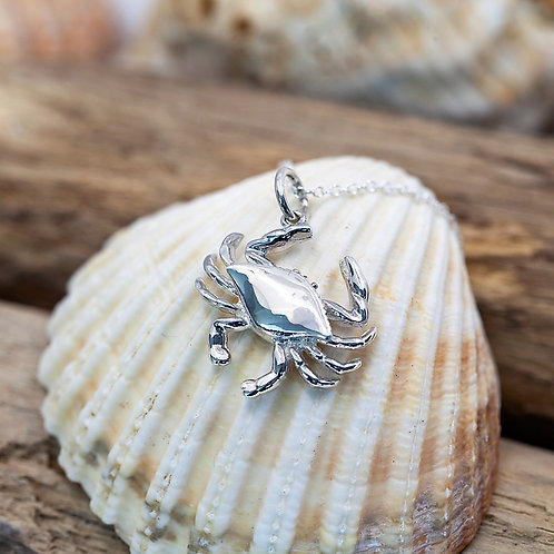 Sterling Silver - Carbis Bay Crab