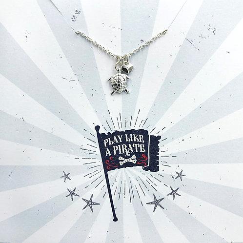 Play like a pirate - Jewellery Card