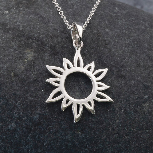 Sterling Silver - Sun Ray