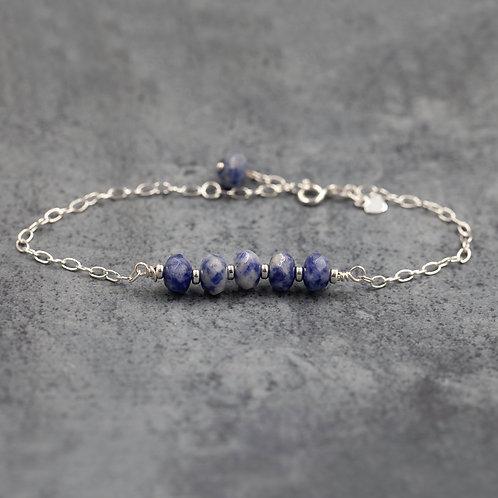 Agate Bar Bracelet