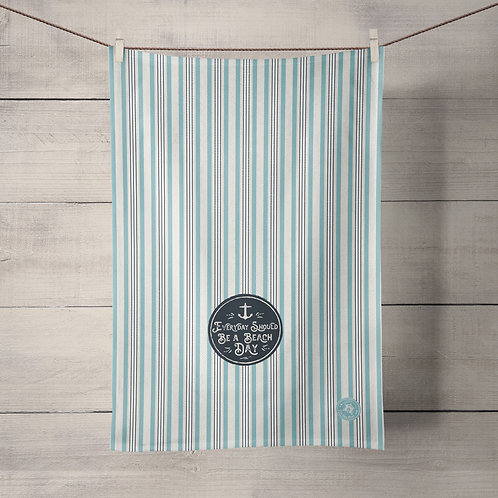 Everyday should be a beach day Tea Towel