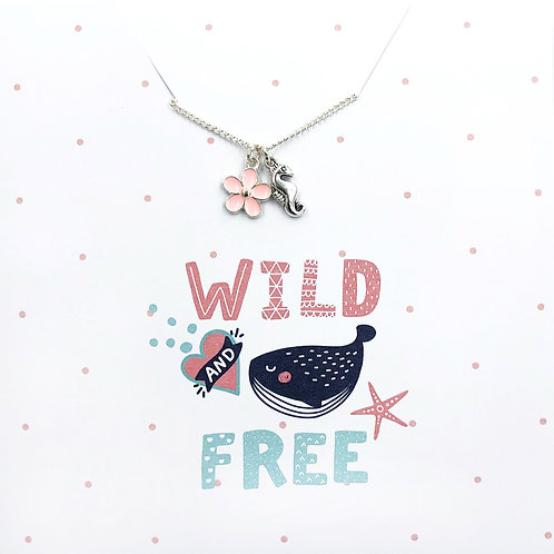 Wild & Free - Jewellery Card