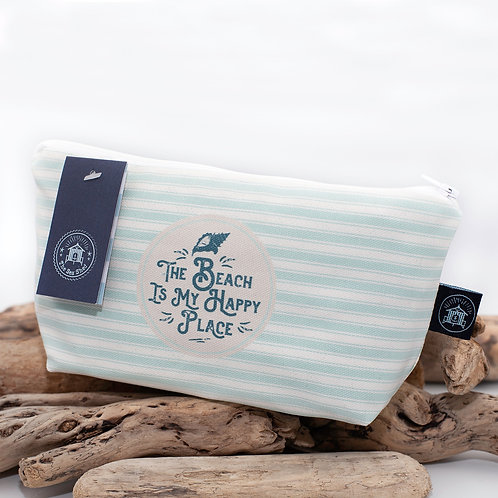 The beach is my happy place - Cosmetic Bag