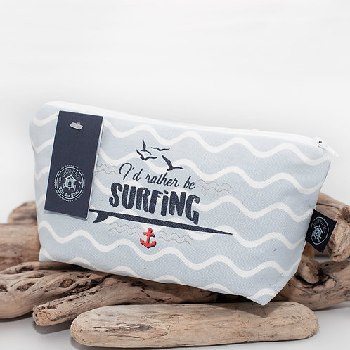 I'd rather be surfing - Cosmetic Bag