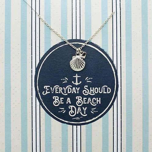 Everyday should be a beach day - Jewellery Card