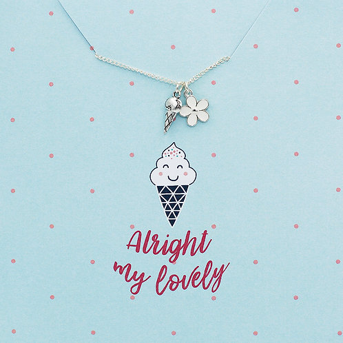 Alright my lovely - Jewellery Card