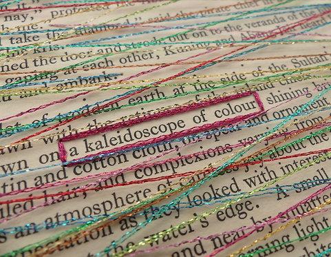 A kaleidoscope of colour
