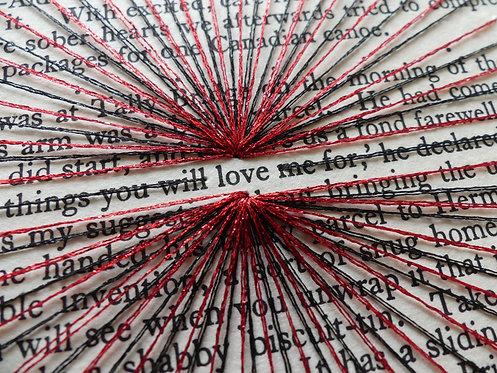 Love in Rushnyk Red