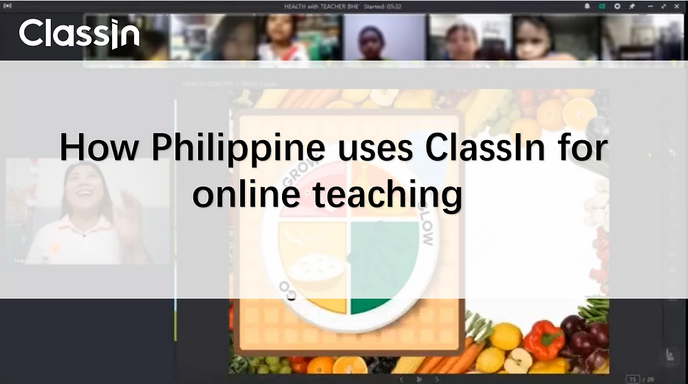 How Philippine uses ClassIn for online teaching