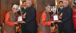 Receiving Sangeet Natak Akademi (2017)