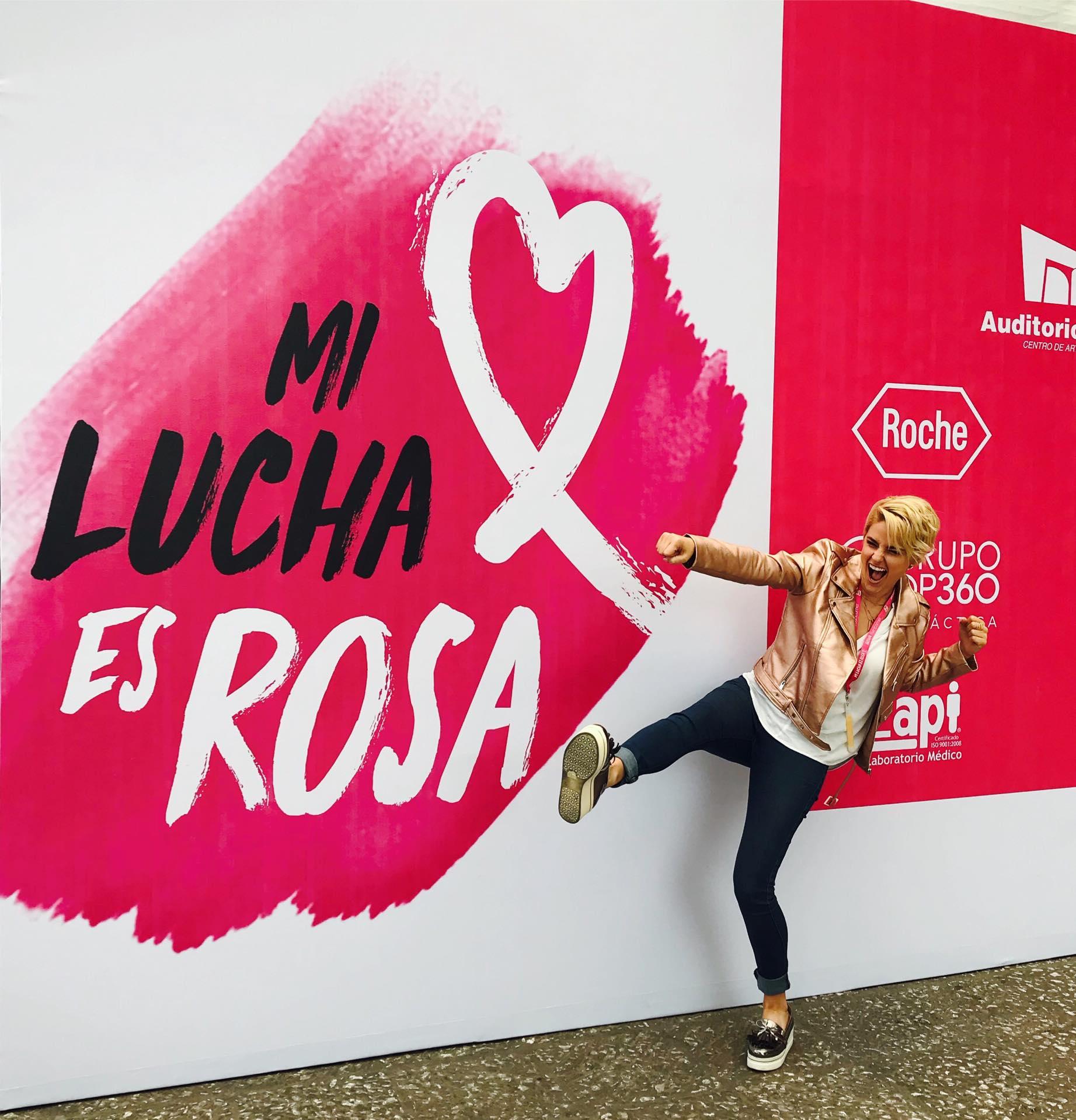 Apoyando la Lucha Rosa