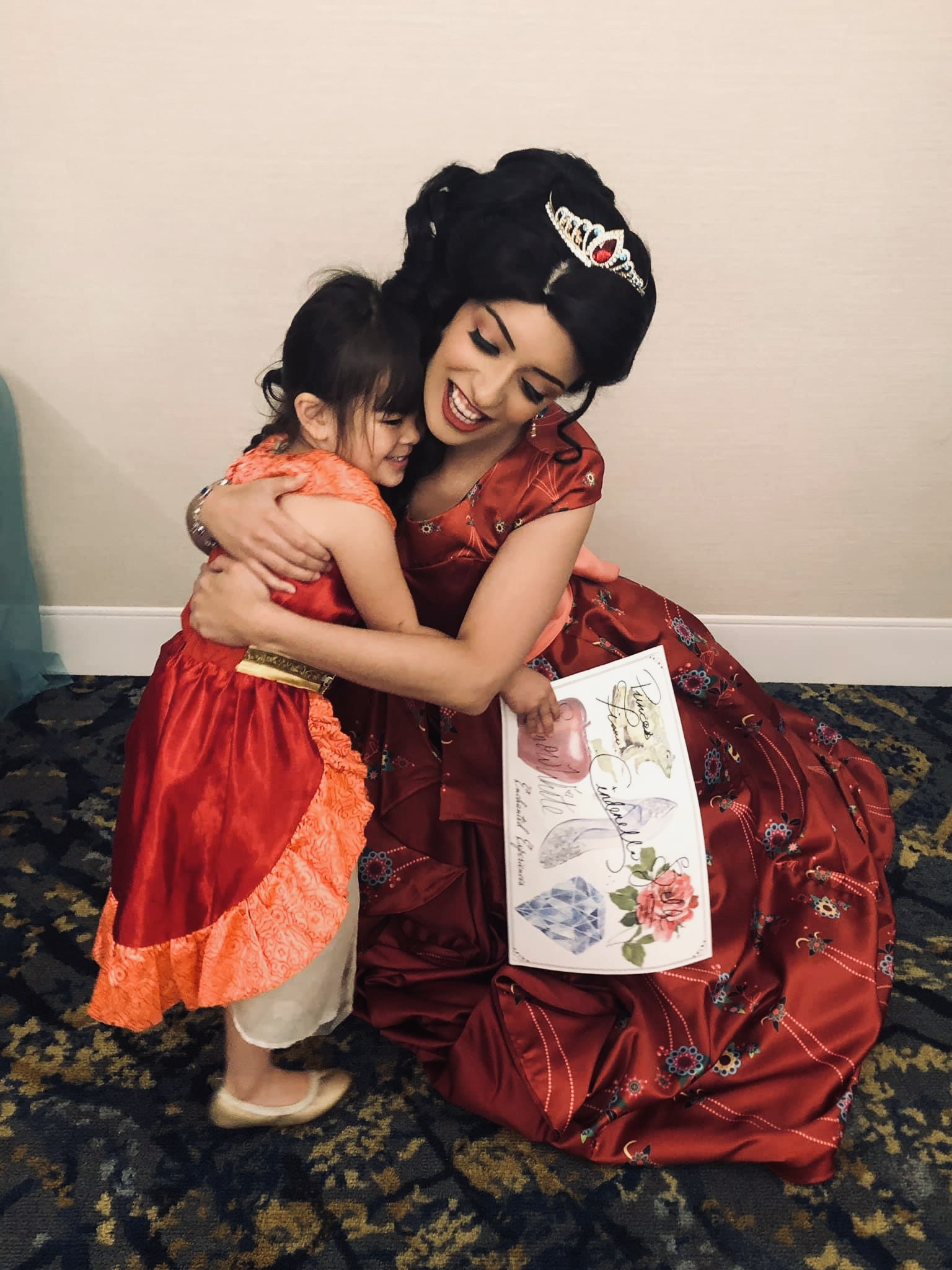 Matching Dresses with Latina Princess