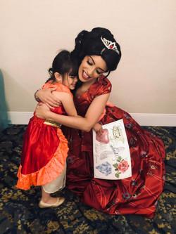 Matching Dresses with Latina Princess