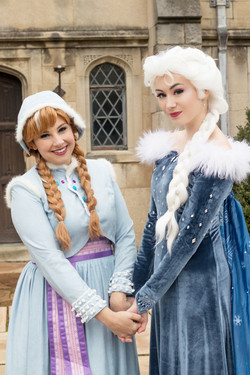 Snow Sisters - Holiday Dresses