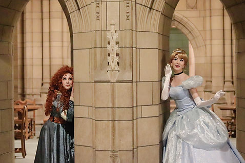 Scottish Princess and Cinderella
