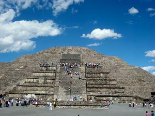 Tteotihuacan Pyramid