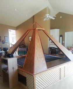 Meditation Pyramid in my home