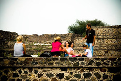 Meditation Exercise at Teotihuacan