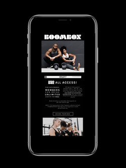 Boombox Boxing Email