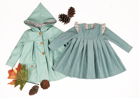 Edith dress & Elisabeth coat bundle