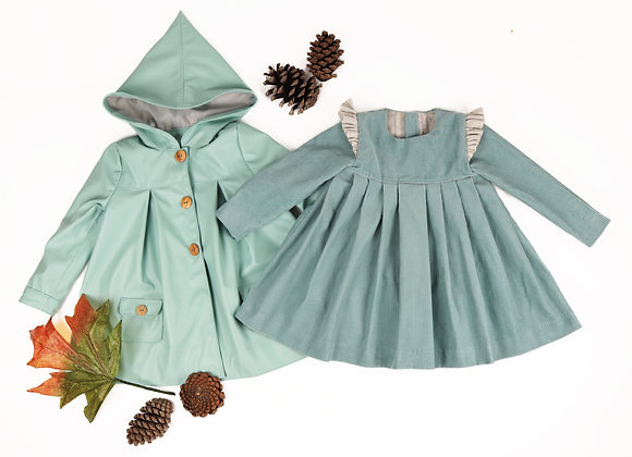 Edith dress & Elisabeth coat bundle