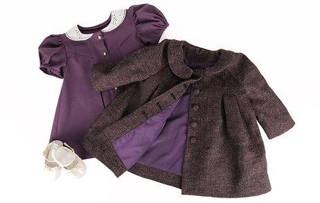 Hazel dress & Matilda coat bundle
