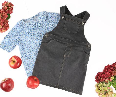 Celia blouse & Ruby pinafore bundle