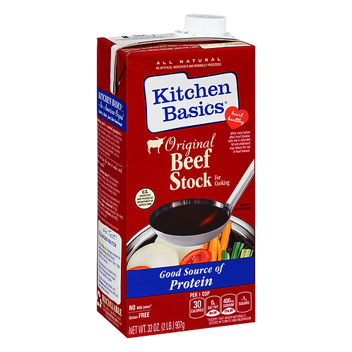 Kitchen Basics - Beef Stock 32 oz.