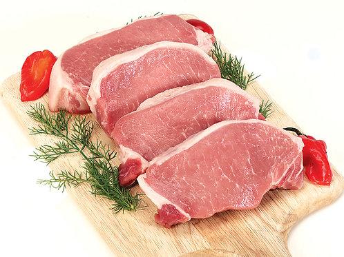 Boneless Pork Chops ( per lb. )