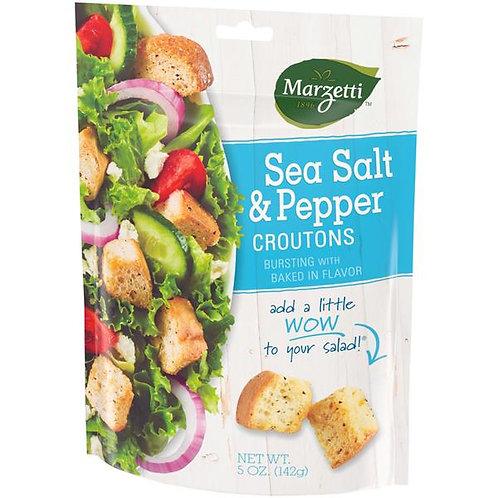 Marzetti Sea Salt Pepper Croutons
