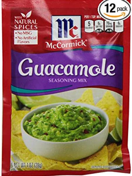 McCormick Guacamole Packet